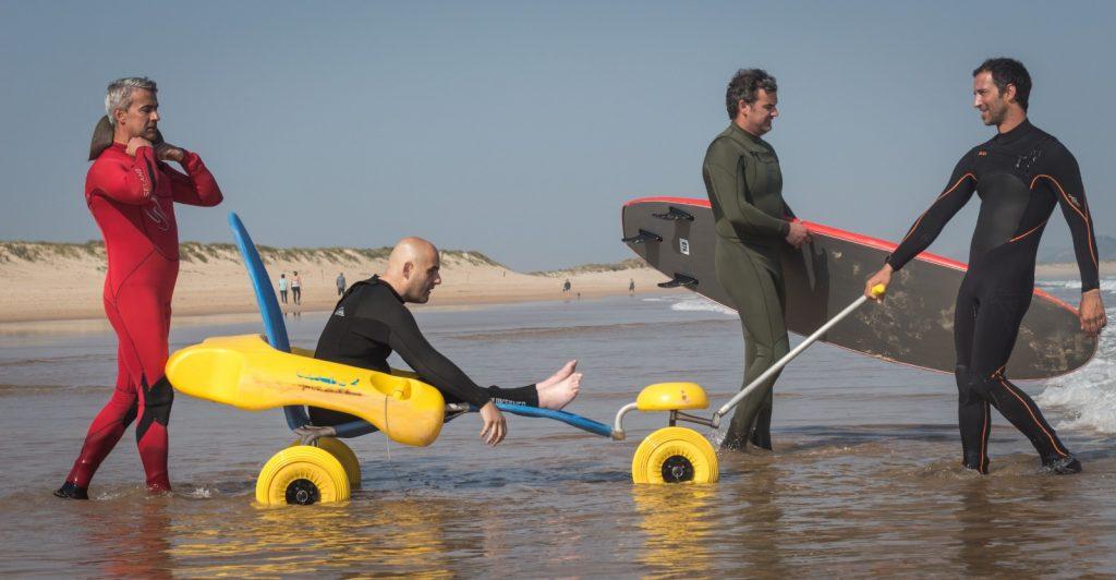RIBAMONTÁN AL MAR CONSIGUE UN PROYECTO EUROPEO DE SURF ADAPTADO